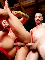 Tony Buff, Draven Torres & Armond Rizzo by Fetish Force image #9