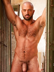 Hottest bald muscle hunk from Rome (Italy) - Bruno Boni by LucasKazan image #9