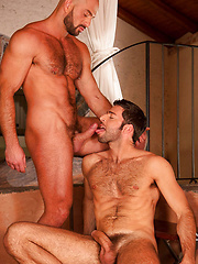 Horny muscle men fuck by LucasKazan image #11