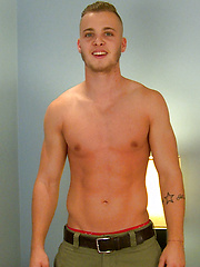 Straight footballer Alex shows off his Six Pack, Cock & Hole! by English Lads image #7