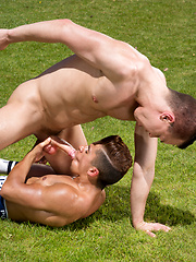 Armond Rizzo and David Lambert in Horseplay (Scene 1) by Hot House Backroom image #11