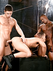 Trelino, Tyson Tyler & Dato Foland - interracial threesome by Raging Stallion image #9