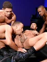 Five muscle men fucking by Raging Stallion image #9