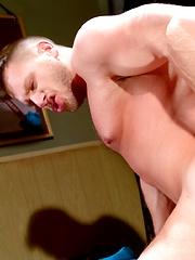Two muscle men - Tommy Defendi & Hans Berlin fucking by Raging Stallion image #8