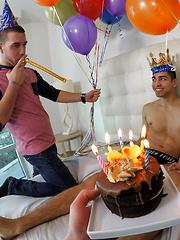 Birthday Boy Balloon Bash - Victor, Dimitri Kane, Draven Milo by Men POV image #11