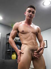 Latin Hunk, Randy Dixon gets his hot load swallowed by Randy Blue image #8