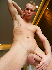 My muscly blond mate Basti can't wait to get off by Bentley Race image #7