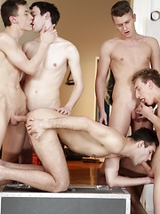 Gan Bang: Sam Williams Gets Used Like A Fuck Rag By His Horny Buddies! by Staxus image #10