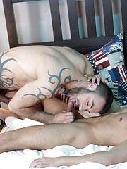 Raw: Young Pizza Boy Gets A Deep-Pan Stuffing From A Horny Stud! by Staxus image #8