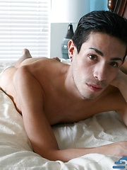 Sexy, slender Shane Rogers stroking his 8-incher. by Boys Nation image #5