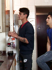 Cafe date leads to kitchen gay smut by Lohan 20 image #8