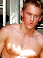 Blue Eyed Smooth Texan by College Dudes image #5