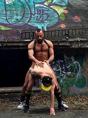 Alberto Esposito & Samir Landser by Cazzo Club image #9