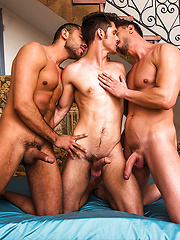 Double Penetration Featuring Devin Franco, Gabriel Taurus, And Nico Deen by Lucas Entetainment image #12
