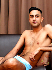 Jamal Jones is a slim bisexual guy with a love of wanking sucking and fucking other dudes! by BlakeMason image #4