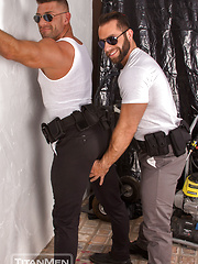 Parole: Officers Bruce Beckham & Eddy Ceetee take frisking to a whole new level! by TitanMen image #10