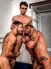 Barebackula Grants Jonathan Harder A Raw Threesome by Lucas Entetainment image #11