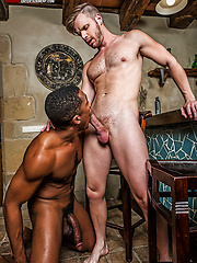 Sean Xavier Fucks Brian Bonds With His Raw Black Cock by Lucas Entetainment image #10