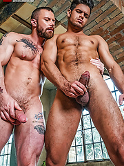 Rico Marlon And Sergeant Miles Double-penetrate Ken Summers by Lucas Entetainment image #14