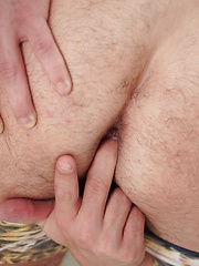 Cute boy Martin Polnak tugs his cock while spreading his ass. by BF Collection image #8
