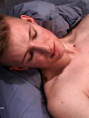 Tall Straight Lad Christian Strips Off and Reveals his Massive Uncut Cock! by English Lads image #6