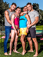 Klim Gromov and Ricky Verez bottom for James Castle and Andrey Vic by Lucas Entetainment image #10