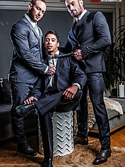Drae Axtell's Corporate Threesome With Dylan James And Stas Landon by Lucas Entetainment image #14