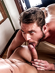 Tomas Brand barebacks Ace Era in the ass by Lucas Entetainment image #9