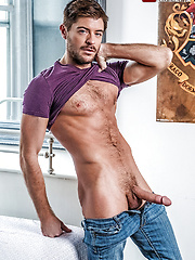 Ricky Verez Services Jack Andy's Hard Nine-inch Cock by Lucas Entetainment image #9