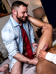 Sergeant Miles Dominates Brian Bonds' Ass by Lucas Entetainment image #8