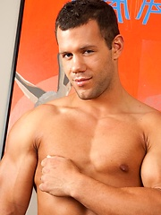 Drew shows off his hot jock body