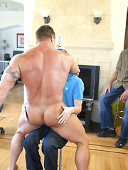 Load of man meat for this group of boys