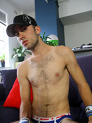 My Big Dicked Mate TJ Nelson shoots a Bucket of Cum
