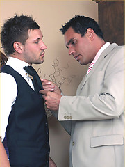 Marcello gets turned on at the thought of his gay hunk friend getting dressed and masturbates hard