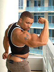 Tim Liggins, latin bodybuilder