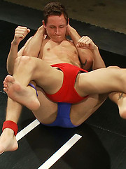 Two newcomers battle it out on the mat to see who gets dominated and fucked.