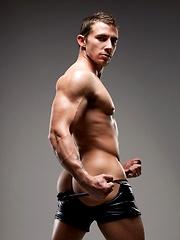 Richard Pierce shows off his hot tattooed body.