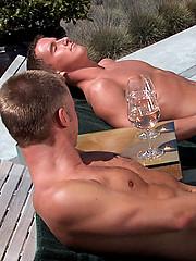 Tucker Vaughn and Cameron Marshall outdoor fuck