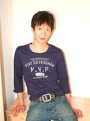 23 year old Japanese boy in sexy underwear