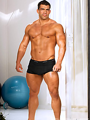 Vince Ferelli posing naked