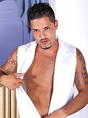 Antonio Coresma plays with his cock