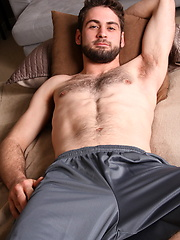 Hairy hunk Manning serviced
