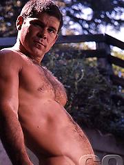 Larry Lara posing naked