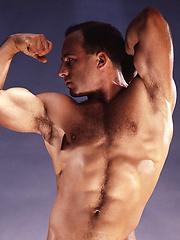 Ken Marx posing naked