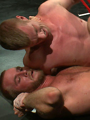 Two All-American studs with big cocks wrestle hard... winner fucks loser. One will earn a victory fuck and one will have his hole pounded wide open.