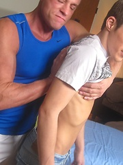 The most fucked up gay massage session ever