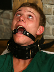 Interrogation  Episode: 02. Twink tied and tortued by his young master