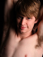 Hot twink Anthony jacking off his dick