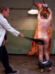 The butcher, Scott Tanner uses and abuses Ethan Storm, the paperboy.