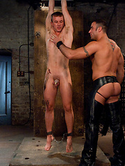 Cameron Adams submits to Spencer Reed\\\'s huge cock.